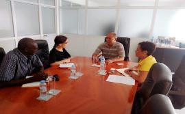 Provedor de Justiça recebeu consultor da OIT em encontro de trabalho