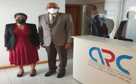 Provedor de Justiça reúne-se com o CA da ARC