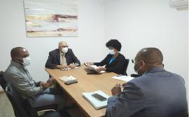 Provedor de Justiça faz visita de cortesia a EMEP
