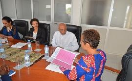 Presidência da República entrega Declaração de Tarrafal à Provedora Adjunta