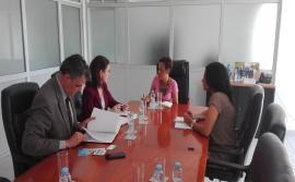 Provedora Adjunta recebe visita de uma equipa da FMI